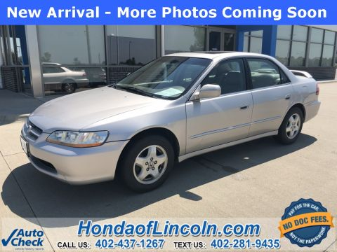 Pre-Owned 1999 Honda Accord EX