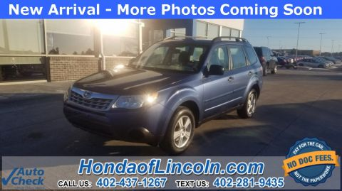 Pre-Owned 2011 Subaru Forester 2.5X