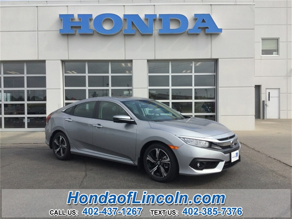 new 2017 honda civic touring near omaha f2287 honda of lincoln. Black Bedroom Furniture Sets. Home Design Ideas