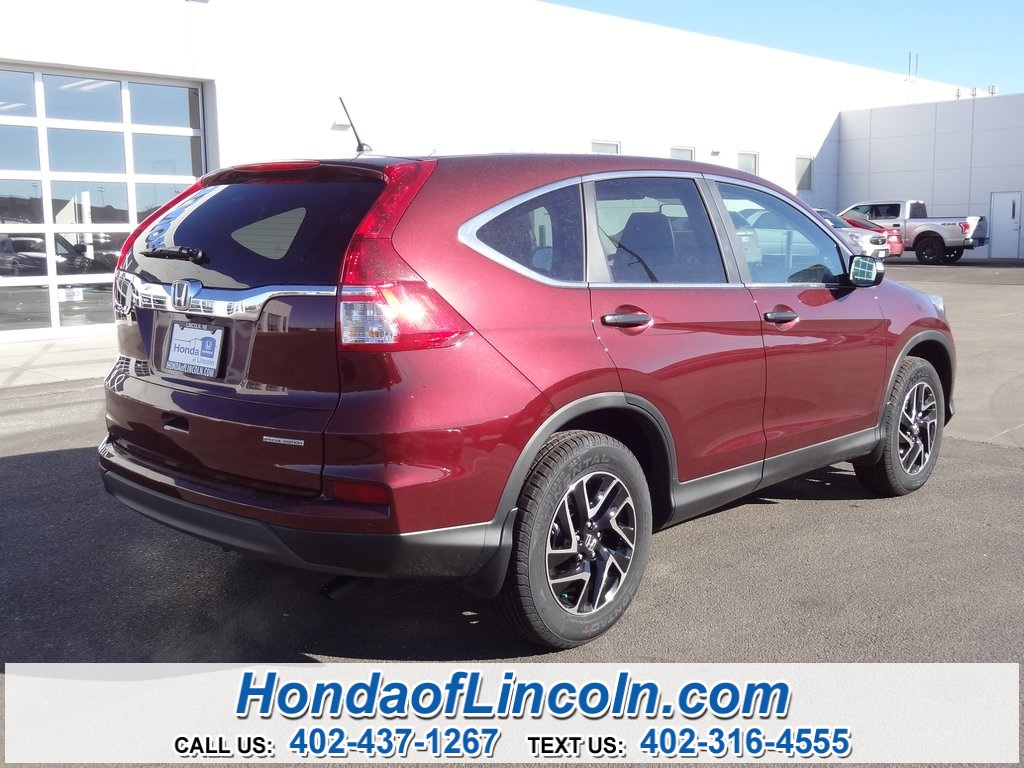 New 2016 honda cr v se 4d sport utility near omaha e2892 for 2016 honda cr v se