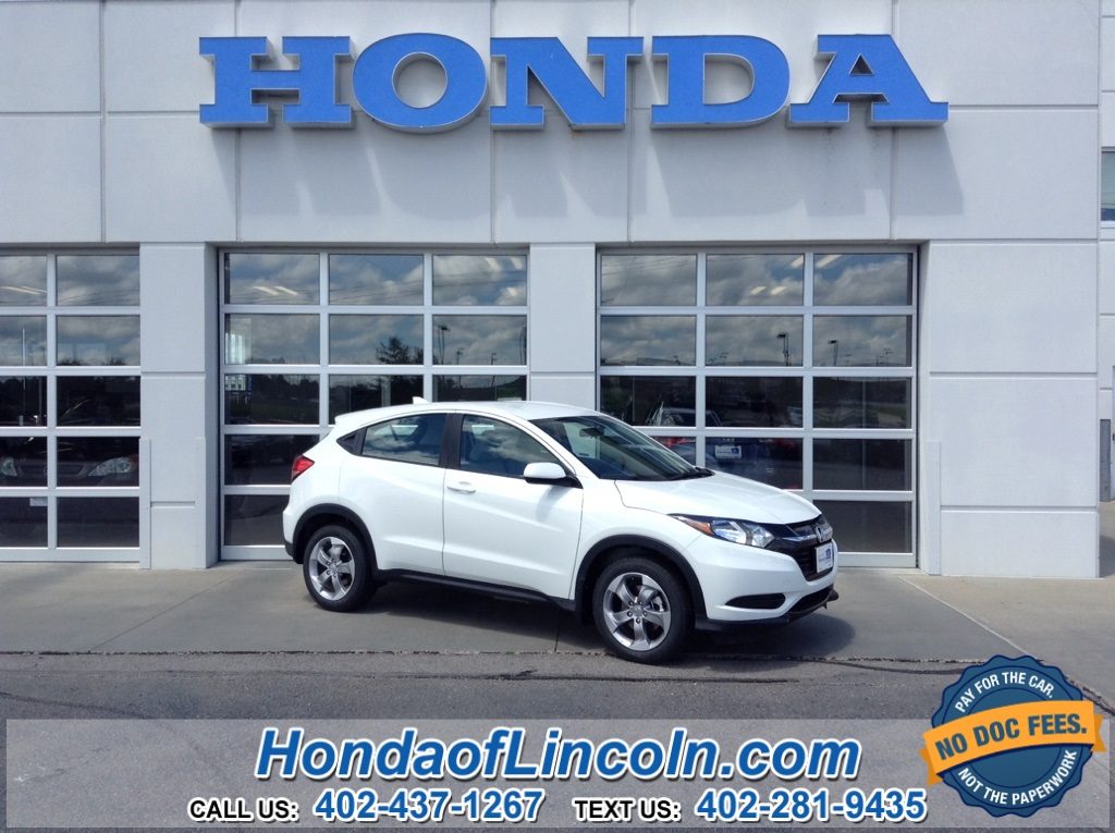 New 2018 Honda Hr V Lx Near Omaha G2191 Honda Of Lincoln