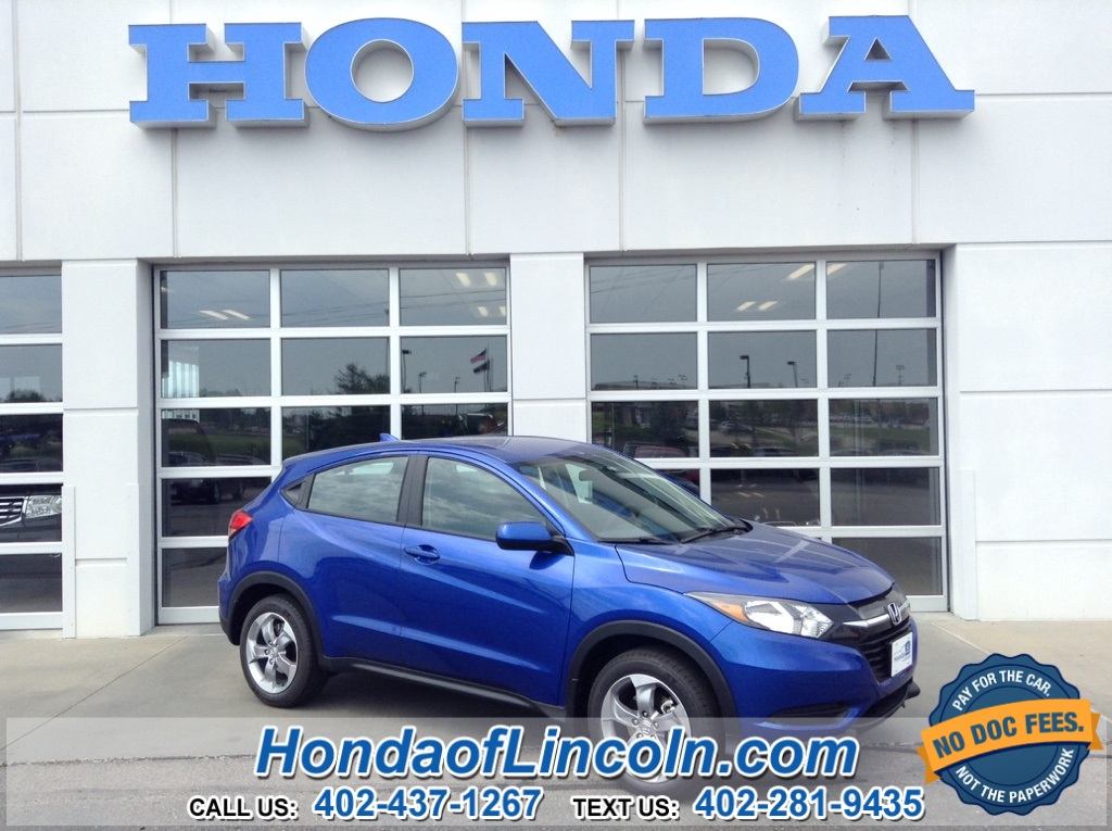 New 2018 Honda Hr V Lx Near Omaha G2082 Honda Of Lincoln