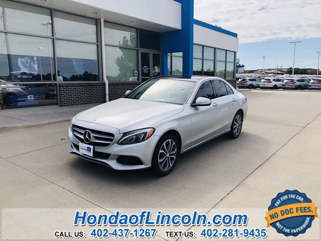 Mercedes Lincoln Ne >> Pre Owned 2015 Mercedes Benz C Class C 300 4matic 4d Sedan