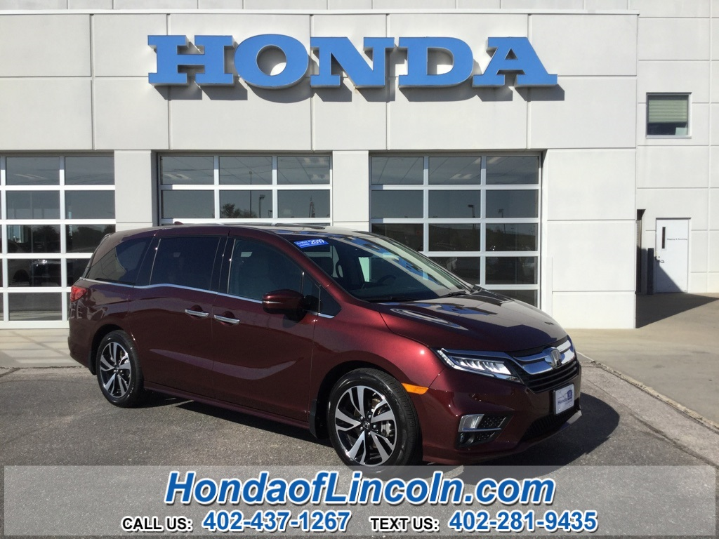 Certified Pre-Owned 2019 Honda Odyssey Elite HCVP