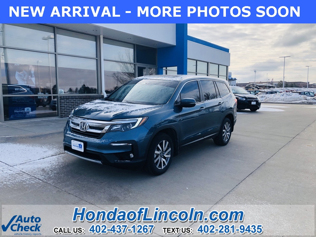 Certified Pre-Owned 2019 Honda Pilot EX-L w/Navigation and Rear Entertainment System