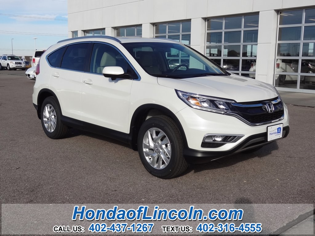 New 2016 honda cr v exl nav 4d sport utility near omaha for Honda crv exl with navigation