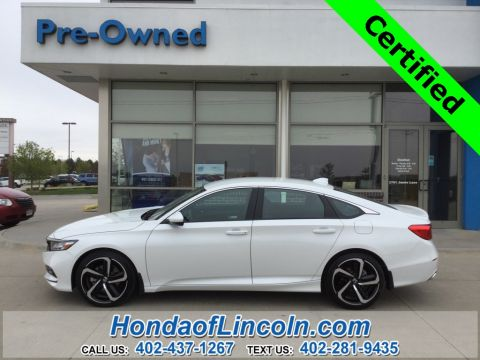 Certified Pre-Owned 2020 Honda Accord Sport HCVP