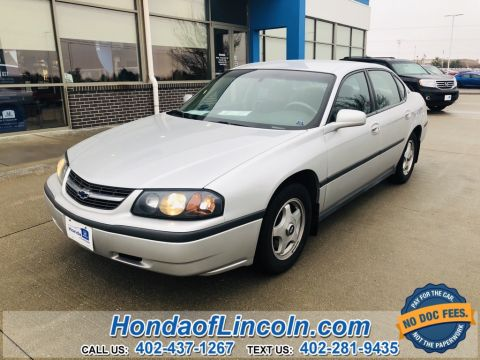 Pre-Owned 2003 Chevrolet Impala Base