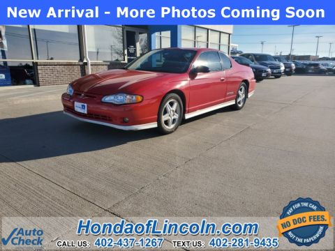Pre-Owned 2005 Chevrolet Monte Carlo SS Supercharged