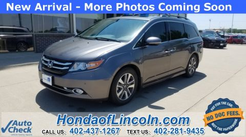 Certified Pre-Owned 2014 Honda Odyssey Touring Elite