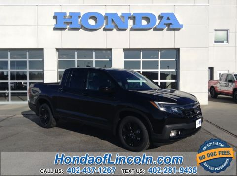 New 2019 Honda Ridgeline Black Ed