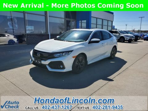 Certified Pre-Owned 2017 Honda Civic EX-L w/Navigation